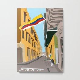Cartagena de Indias, Colombia Metal Print