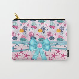 Little Treasures From Sea Carry-All Pouch