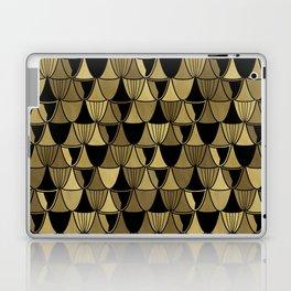 Gold Art Deco Goblets Laptop & iPad Skin