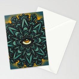 Mandala Eye - Color Variant 1 Stationery Cards