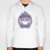 decal Hoodies featuring Wraith Defiant decal by jordannwitt