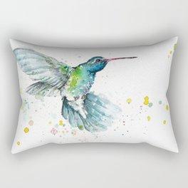 Hummingbird Flurry Rectangular Pillow