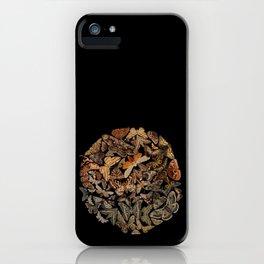 Moth circle iPhone Case