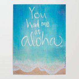 Had Me At Aloha Poster