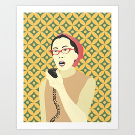 YURI KOCHIYAMA Art Print