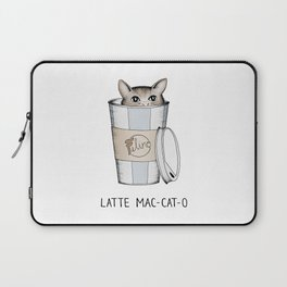 Latte Mac-cat-o Laptop Sleeve