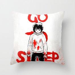Jeff, The Killer Throw Pillow