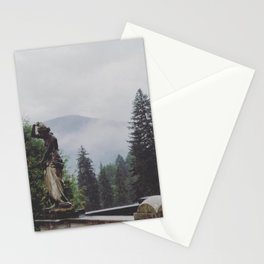 In The Mists of Romania Stationery Cards