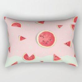 Summer Love - Watermelon Rectangular Pillow