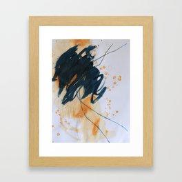 maybe I've lost count Framed Art Print