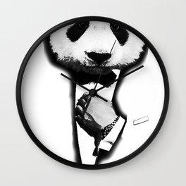 James Panda Wall Clock