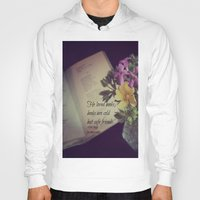 les miserables Hoodies featuring Books Les Miserables by KimberosePhotography