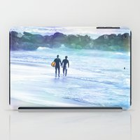 boys iPad Cases featuring Surfer Boys by Teresa Chipperfield Studios
