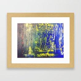 Chromatic Ripple Framed Art Print