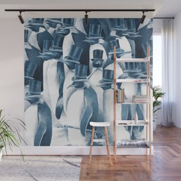 A Gathering of Gentlemen (square format) Wall Mural