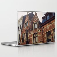 brussels Laptop & iPad Skins featuring Brussels by monography