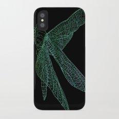 Dragonfly iPhone X Slim Case