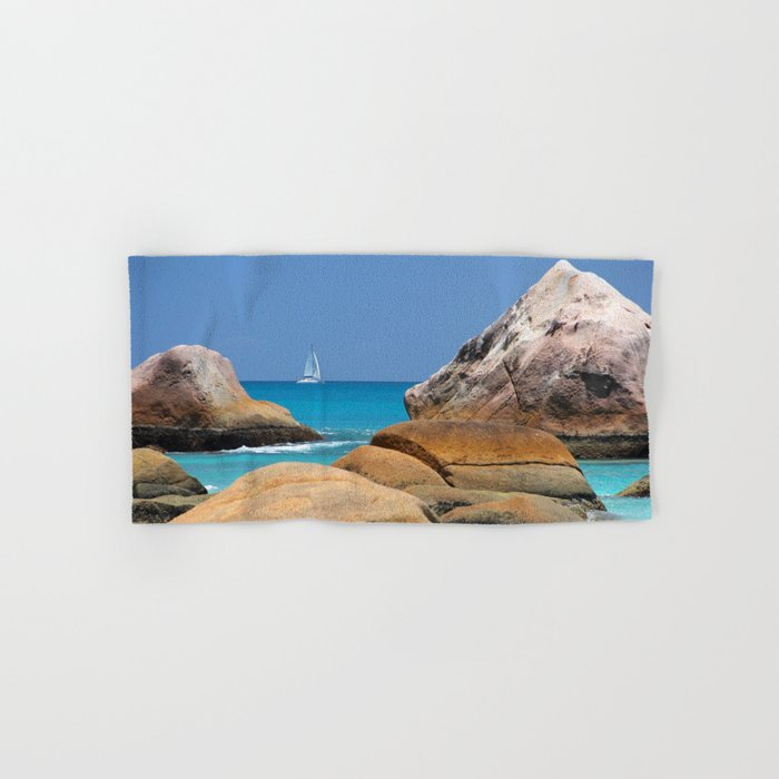 Sea Seychelles Hand & Bath Towel