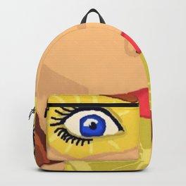 Lemon  Backpack