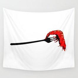 Shrimp! Wall Tapestry