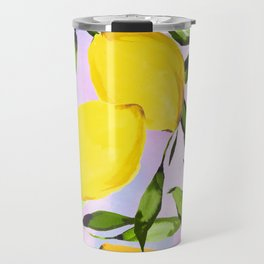 Citrus lemons Travel Mug