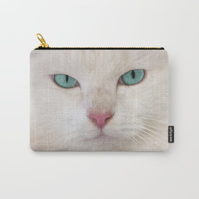 WHITE DELIGHT Carry-All Pouch