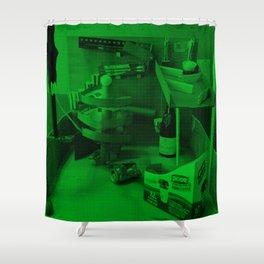Rube Goldberg Machine Shower Curtain