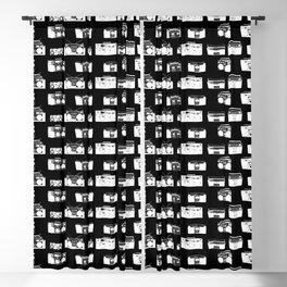Black Beatbox Blackout Curtain