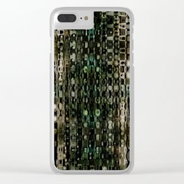 InTheTV Green Clear iPhone Case