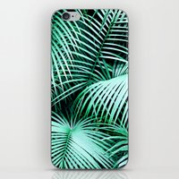 palms iPhone & iPod Skins featuring Palms by Karen Hofstetter