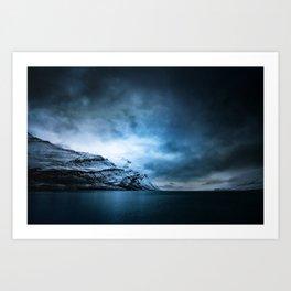 The Arctic - Storm Over Still Water Art Print