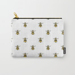 Bee Friends Pattern Carry-All Pouch
