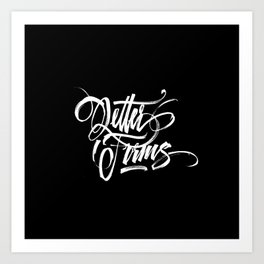 Letter Forms Art Print