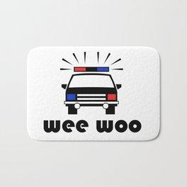 Police Car Wee Woo Bath Mat