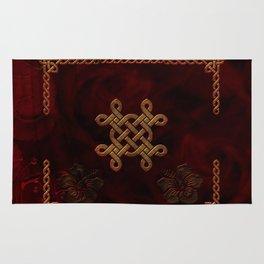 Celtic knote, vintage design Rug
