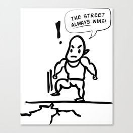 Furious 7 - The Street Always Wins Canvas Print