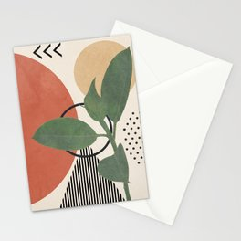 Nature Geometry III Stationery Cards