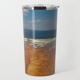 Drainage from thermal features into Lake Yellowstone Travel Mug