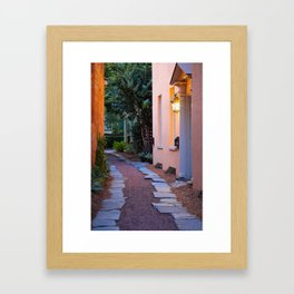 East Bay Alley Framed Art Print