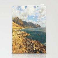 west coast Stationery Cards featuring West Coast Oahu by Tianna Chantal
