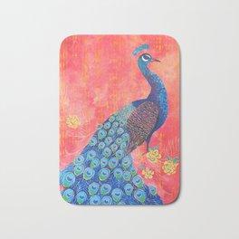 Peacock - Colour Me Happier Bath Mat