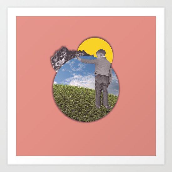 seize//the.moment/ Art Print