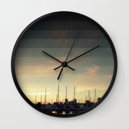 Fading Skies Wall Clock