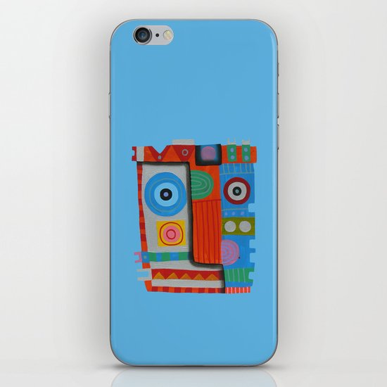 Your self portrait iPhone & iPod Skin