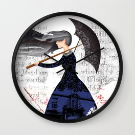 THE COVENANTER'S WIDOW Wall Clock