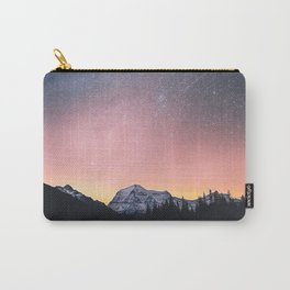 Milky Way Stars Mountain Landscape Carry-All Pouch