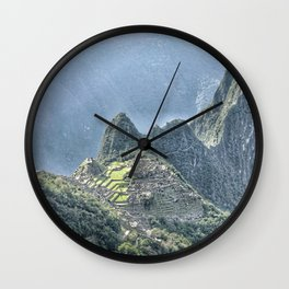 The Lost City of The Incas Wall Clock