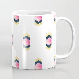 Geometric Hexagons & Chevrons Coffee Mug