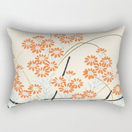 Ornamental Chrysanthemum, Daisy Flowers Rectangular Pillow