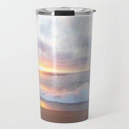 Calming beach veiw Travel Mug